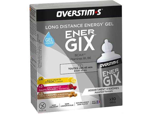OVERSTIM.s Energix Liquid Gel Box 10x30g, Mixed Flavors